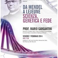 Mendel Day – Scienza, genetica e fede